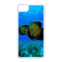 two sea fishes Case for Black Berry Z10