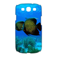 two sea fishes Case for Samsung Galaxy S3 I9300 (3D)