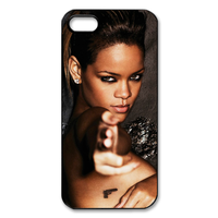 Rihanna Super Hott In Actions for a black iPhone 5 Case for Iphone 5
