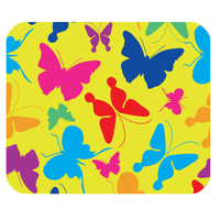 butterfly mousepad Customized Rectangle Mousepad