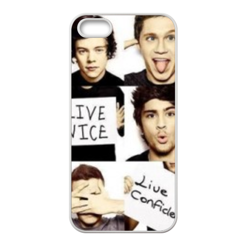 1D Custom Cases for iPhone 5S (TPU)