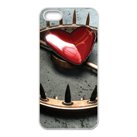 The Trap of Heart Custom Cases for iPhone 5S (TPU)
