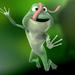 terrible frog