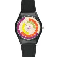 High Quality Black Plastic Watch Model313