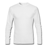 Custom Gildan Mens Long sleeve T-shirt Model T08