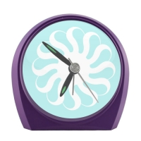 Cartoon Corbies Elegant Small Alarm Clock