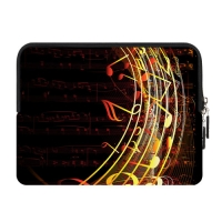 Custom Zipper Sleeve for IPad Mini (two sides)