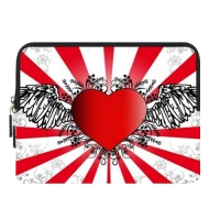 Custom Zipper Sleeve for Samsung Galaxy Tab 10.1 (One side)