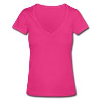 Custom Women's Deep V-neck Shirt Model T19
