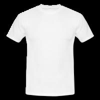 Men's classic white t-shirt Model T12