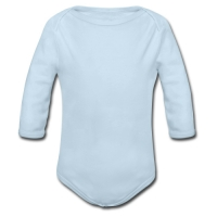 Baby Powder Organic Long Sleeve One Piece Model T27