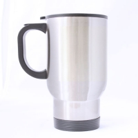 Custom Travel Mug  (sliver)
