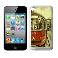 Custom Case for IPod Touch 4 TPU (Laser Technology)