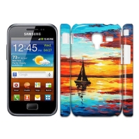 Custom Case for Samsung S7500 Galaxy Ace Plus 3D