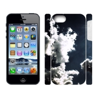 Custom Dual-Protective Case for IPhone 5 3D (New)