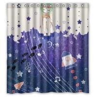 "Custom Shower Curtain 66"" x 72"""