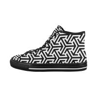Custom Vancouver High Top Men's Canvas Shoes (Model1013-1)