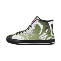 Custom Vancouver High Top Women's Canvas Shoes (Model1013-1)