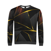 Custom All Over Print Crewneck Sweatshirt for Men (Model H18)