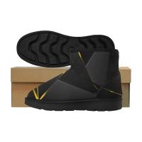 Custom Low Top Men's Snow Boots (049)