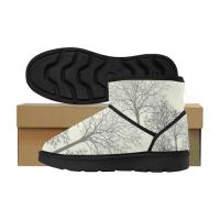 Custom Low Top Women's Snow Boots (049)