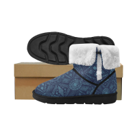 Custom Unisex Single Button Men's Snow Boots ( 051)