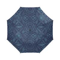 Custom Semi-Automatic Foldable Umbrella