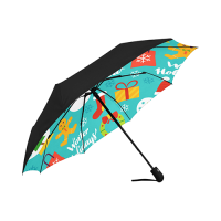 Anti-UV Auto-Foldable Umbrella (Underside Printing)