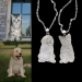 Personalized Photo Necklace Sterling Silver 925