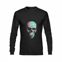 Men's Heavy Cotton Long Sleeve T-Shirt/Large