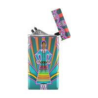 Rectangular USB Lighter (Lateral Button)