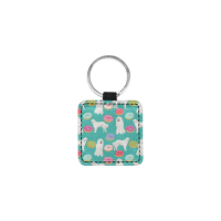 Square Pet ID Tag