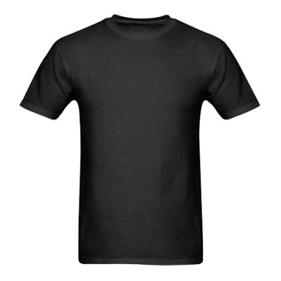 Custom Men's Gildan T-shirt(USA Size)Model T02  (One Side)